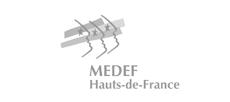 Logo Medef Hauts de France